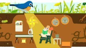 Google-Doodle zum Sommeranfang