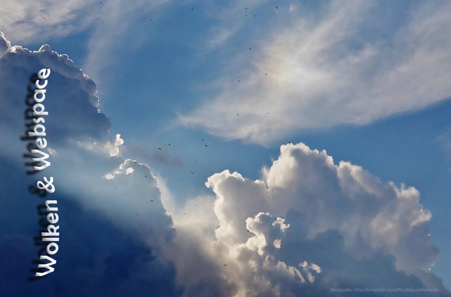 Clouds und anderer Speicherplatz