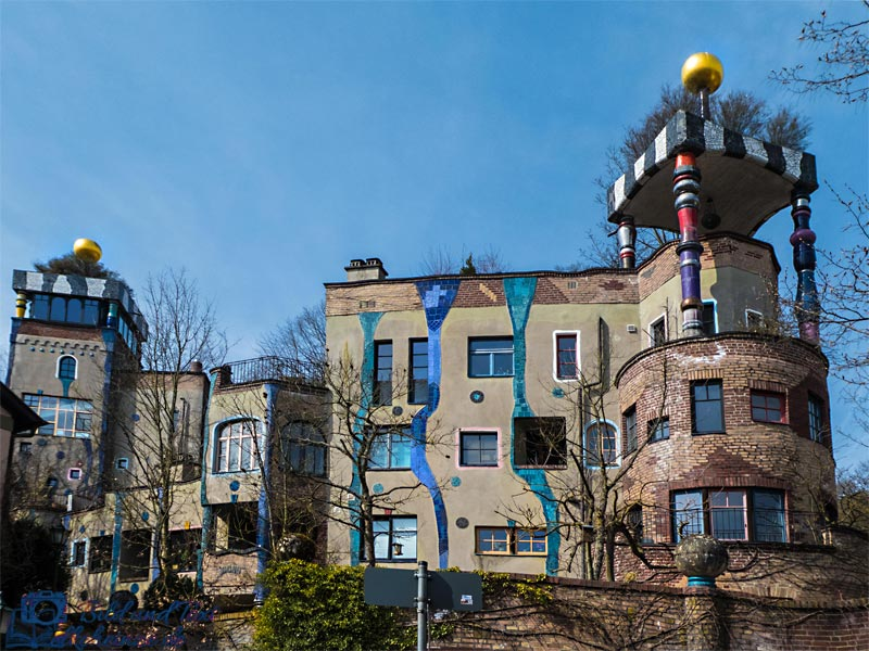 Hundertwasserhaus in Bad Soden