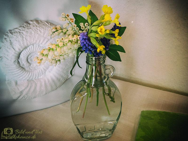 Blumen im Vintagelook