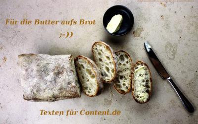 Meine Arbeit für Content.de