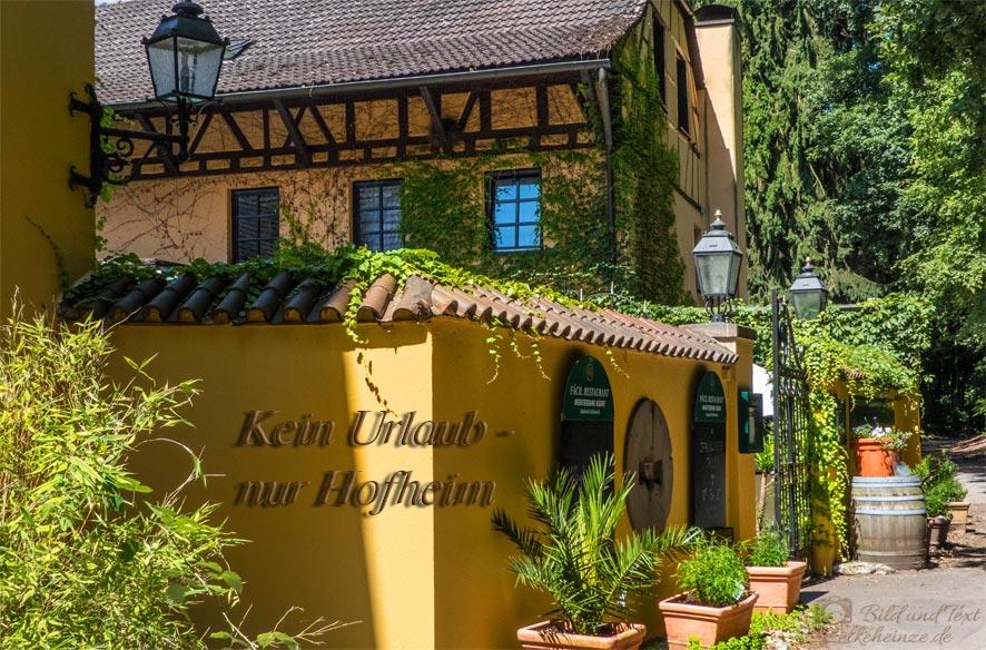 Hofheim, Hitze, Kriebelmücken