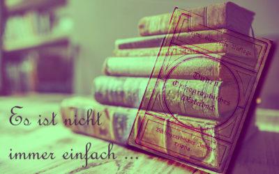 Rechtschreibung, Grammatik, Zeichensetzung