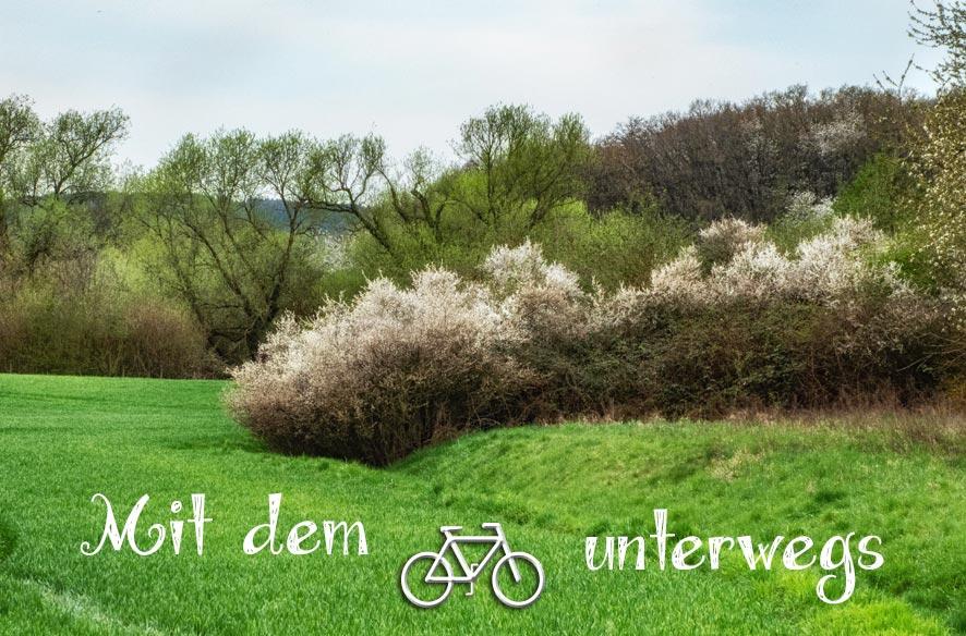 Irgendwo im Geräusch (Mit dem Fahrrad unterwegs)