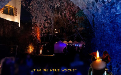 """""""T in (den Burggraben) die neue Woche"""""""