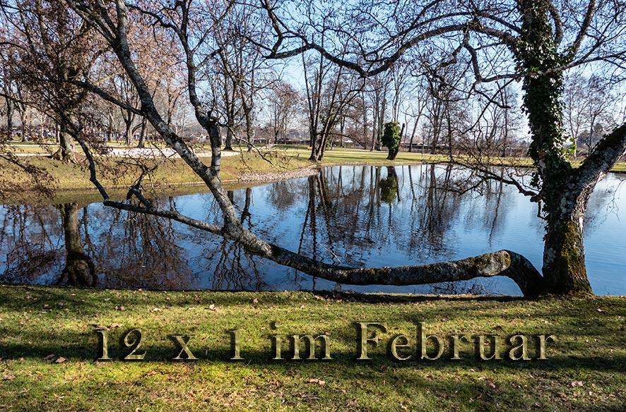 12 x 1 im Stadtpark / 02-2019