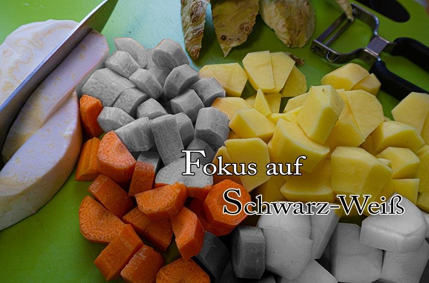 S/W – Fokus aus der Küche