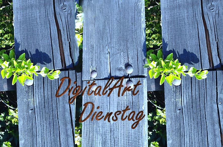 DigiArt Dienstag mit Zaun