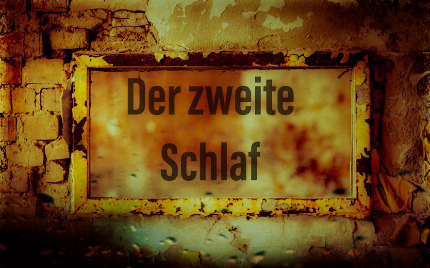 """ZiB & Hörspiel """"Der zweite Schlaf"""""""