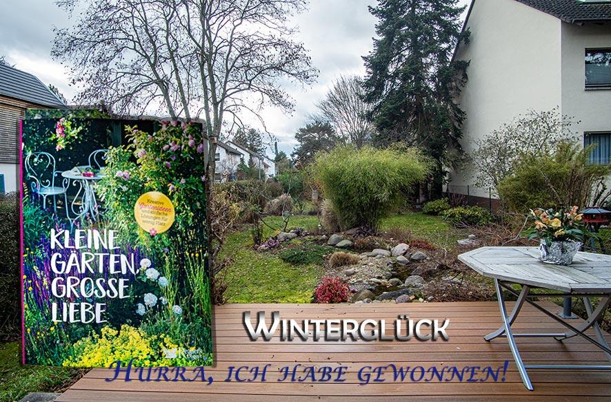 Winterglück mit Buch