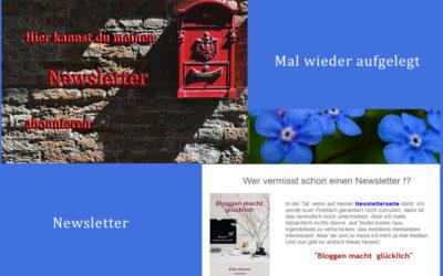 Newsletter neu aufgelegt