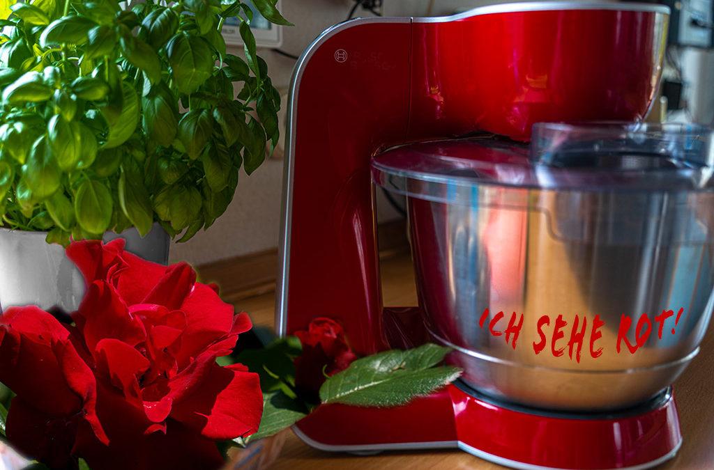 Rotes in meiner Küche