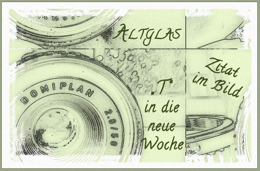 """Mix mit """"T"""" & ZIB & Altglas"""